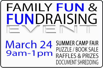 Family FUN & FUNdaraising Event (3/24 9am-1pm)